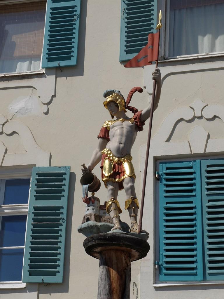 Heiliger Florian von vorn