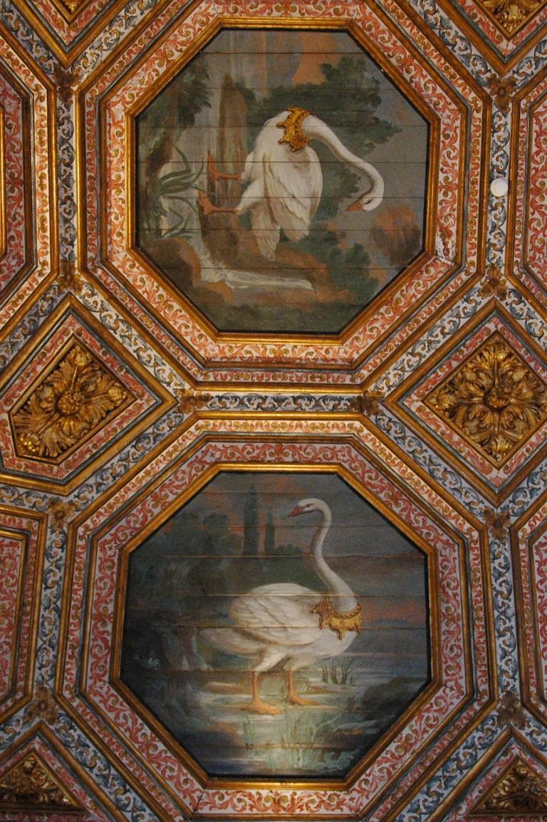 Holzdecke im Palácio Nacional de Sintra