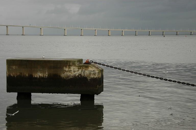 Blick zur Ponte Vasco da Gama