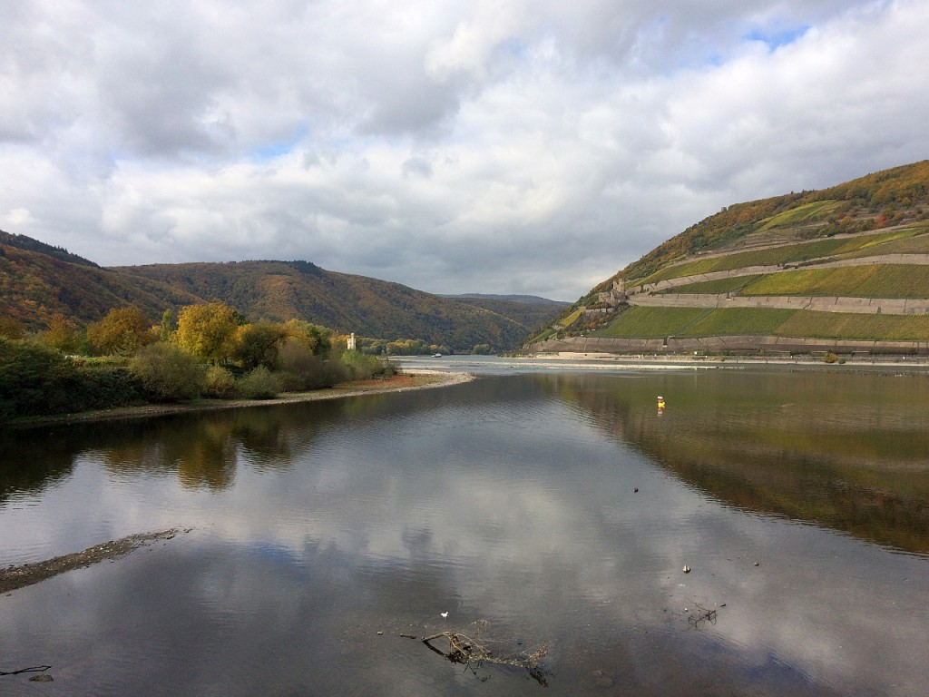 am Rhein-Nahe-Eck in Bingen
