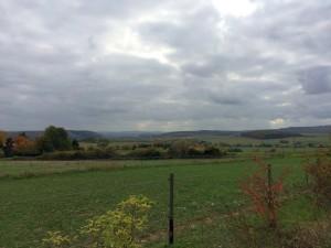 Blick in die Landschaft