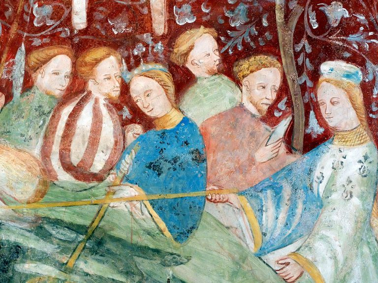 Fresken Burg Runkelstein