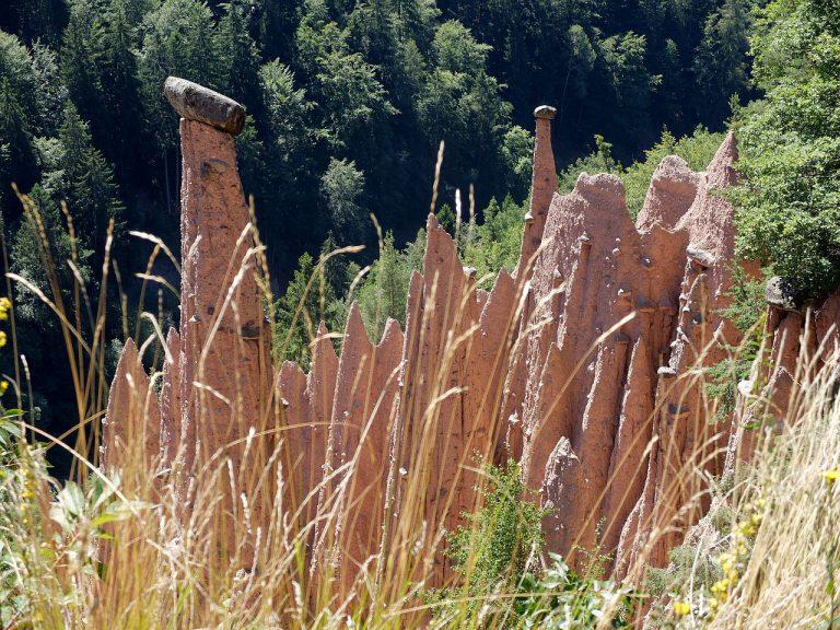 Erdpyramiden im Katzenbachtal