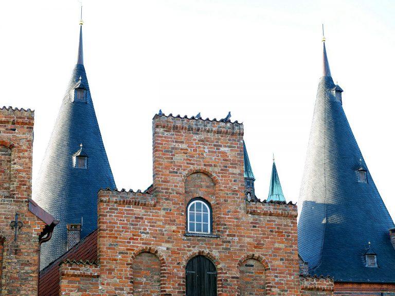 Lübeck Holstentor & Salzspeicher
