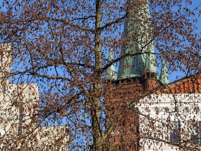 Lübeck Petrikirche / Obertrave