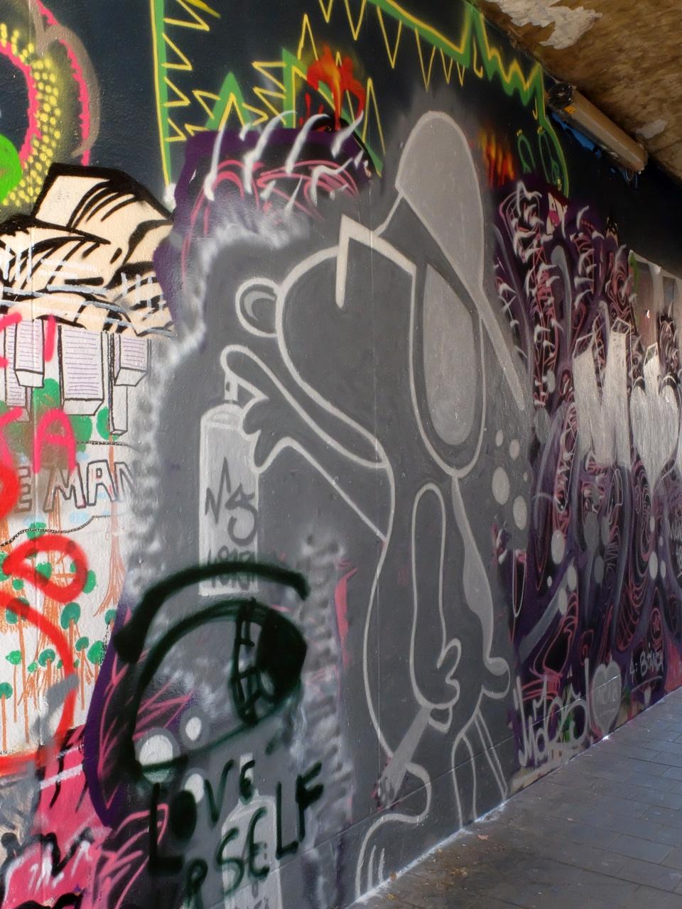 Graffiti-Straße, Gent