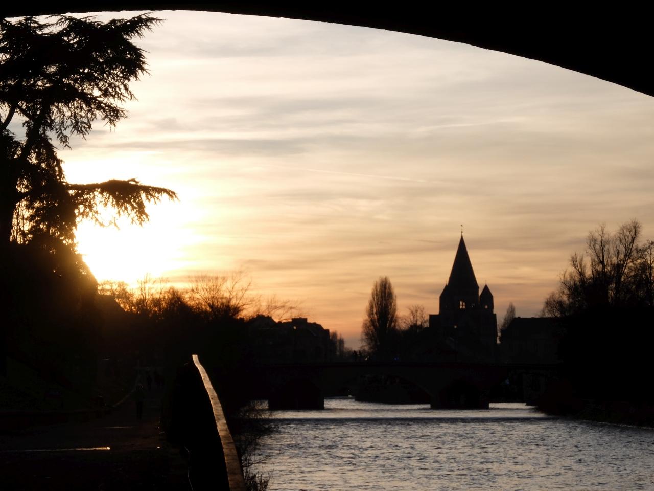 Mosel bei Metz